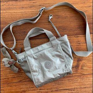 Kipling muted metallic crossbody bag